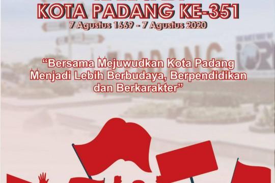 Selamat Memperingati Hari Jadi Kota Padang yang Ke-351 th