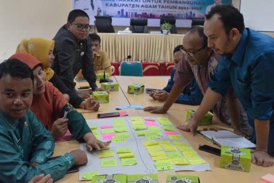 Integrasi Hasil Survey Kebutuhan Masyarakat ke dalam Rancangan Teknokratik RPJMD Agam