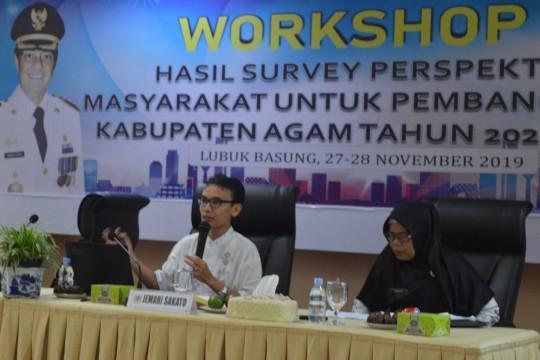 Merancang Arah Pembangunan Kabupaten Agam untuk 5 tahun ke depan